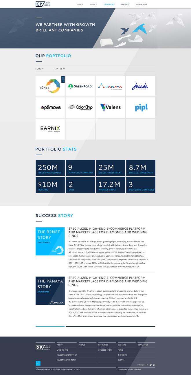 IGP's portfolio companies